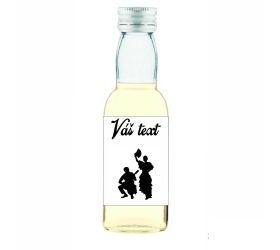 Plesová mini fľaštička alkoholu PF006