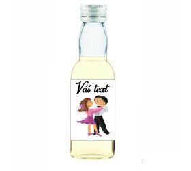 Plesová mini fľaštička alkoholu PF010