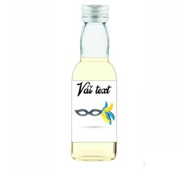 Plesová mini fľaštička alkoholu PF018