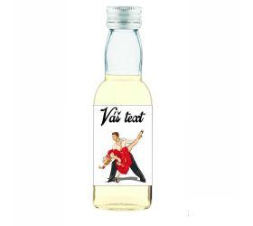 Plesová mini fľaštička alkoholu PF019