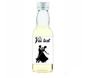 Plesová mini fľaštička alkoholu PF023