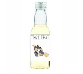 Halloweenska mini fľaštička alkoholu HF05