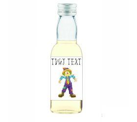 Halloweenska mini fľaštička alkoholu HF06