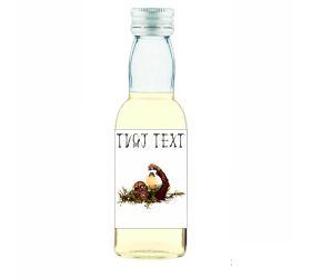 Halloweenska mini fľaštička alkoholu HF07