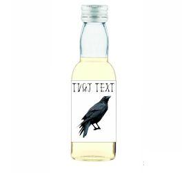 Halloweenska mini fľaštička alkoholu HF14