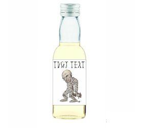 Halloweenska mini fľaštička alkoholu HF16