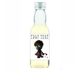 Halloweenska mini fľaštička alkoholu HF21